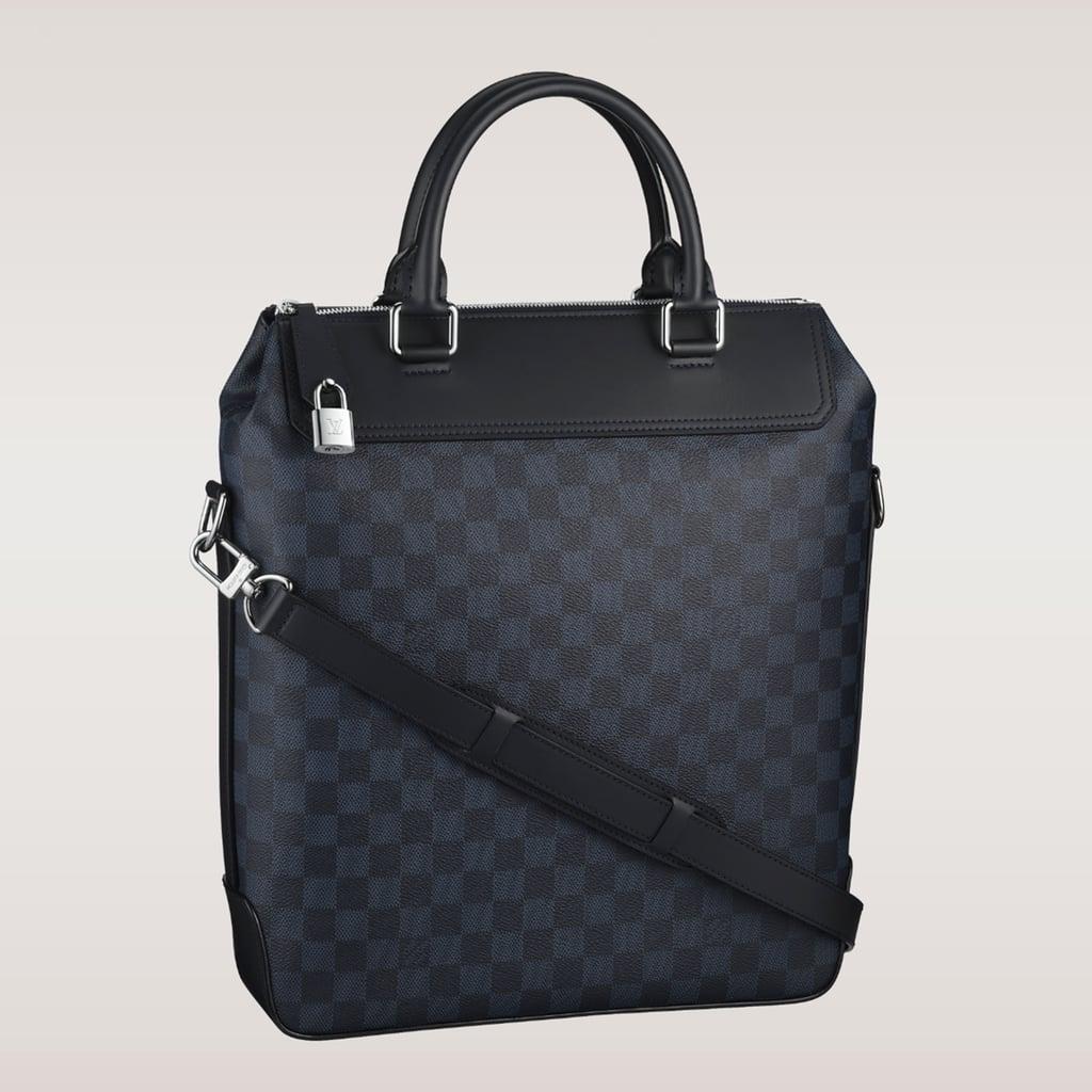 Louis Vuitton Cobalt Damier Tote