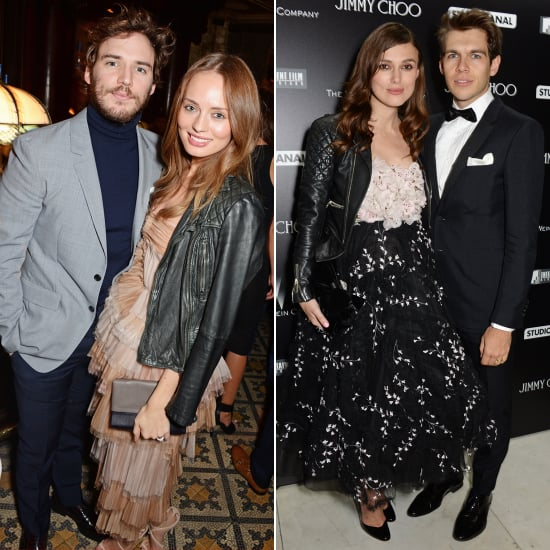 The Party Dress and Leather Jacket Trend