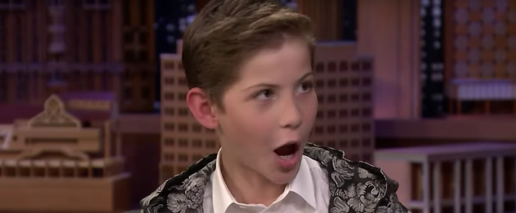 Jacob Tremblay Doing Impressions on The Tonight Show Video
