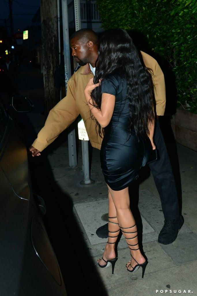Kim Kardashian and Kanye West Out in Santa Monica May 2019
