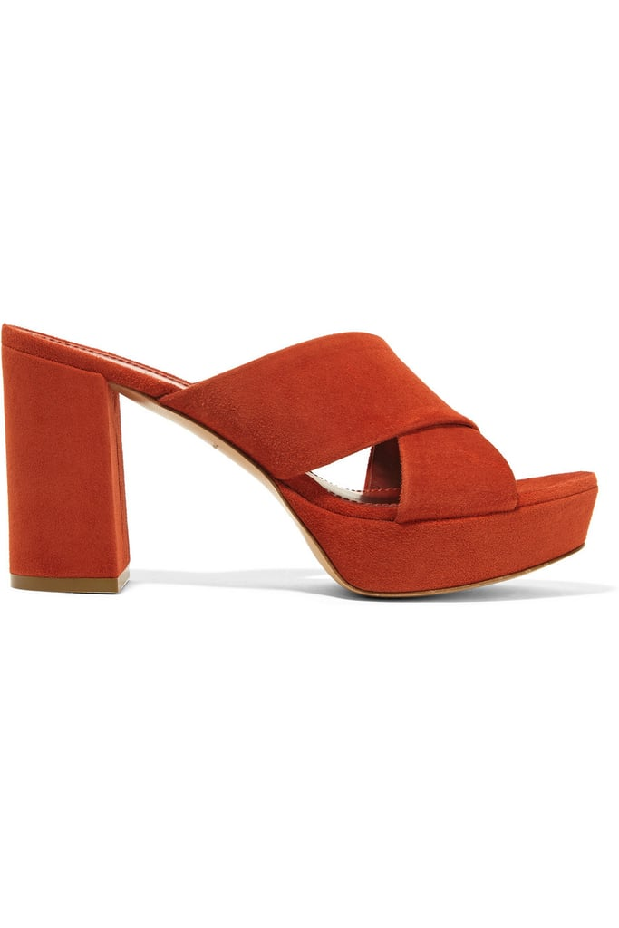 Mansur Gavriel Suede Platform Sandals ($625)
