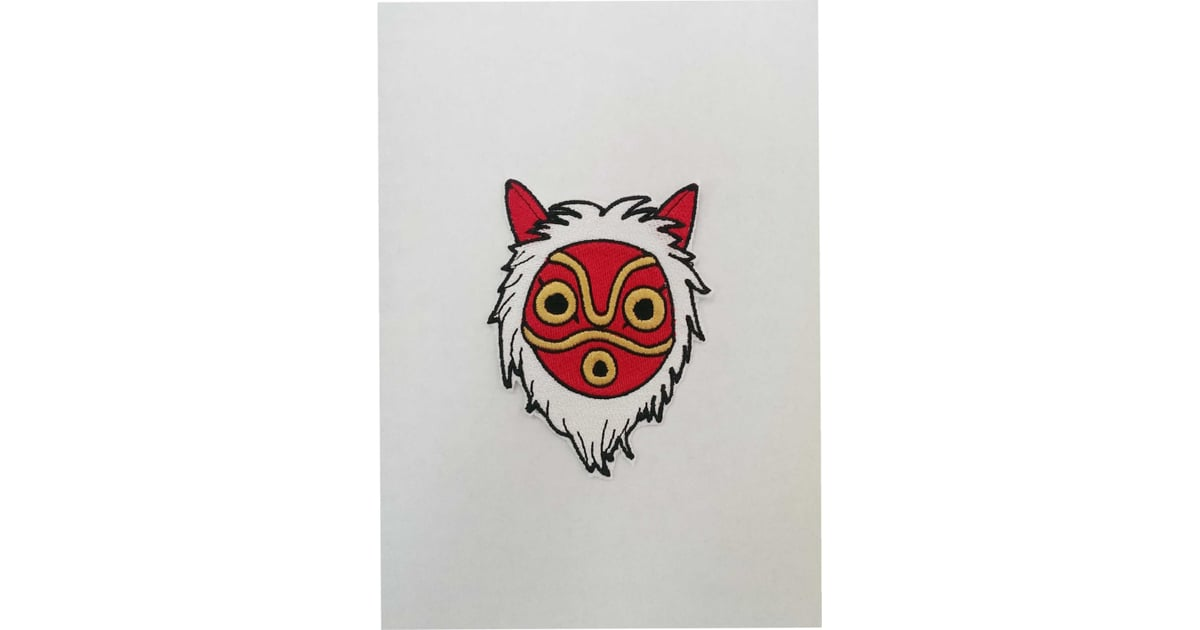Princess Mononoke Mask Fully Embroidered Patch 14 You Ll Want Every Single One Of These Miyazaki Inspired Gifts Popsugar Tech Photo 49