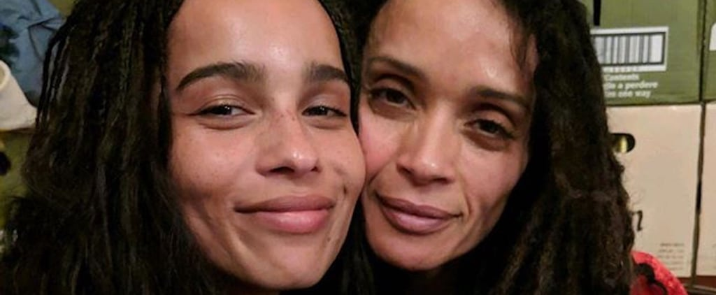 Zoë Kravitz and Lisa Bonet Instagram Photo December 2018