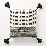 Joanna Gaines For Anthropologie Tasseled Olive Pillow in Ivory
