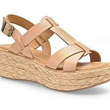 "A raffia platform is ultra-boho but perfect for the Summer months. Kork-Ease ""Ande"" Sandal ($155)"