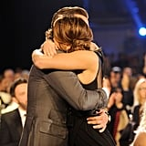 Their hugs got supersexy at the 2013 Critics' Choice Movie Awards.