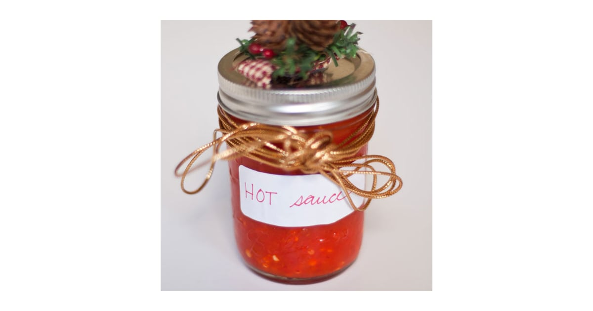 PopsugarLivingHot SauceHot SauceDecember 19, 2011 by Mandy Harris4 SharesChat with us on Facebook Messenger. Learn what's trending across POPSUGAR.Hot SauceAdapted from Kerri ConanNotesThis recipe can be easily adjusted to make as little or as much as you like; simply add enough white vinegar to completely submerge the chiles. Don't forget to wear gloves if you're working with exceptionally hot chiles, and avoid inhaling the fumes as you heat the sauce.Ingredients1 pound chiles, any varietyApproximately 5 cups white vinegarSalt, to tasteDirectionsRinse and stem the chiles, leaving the seeds intact.Add the chiles to a blender; cover with white vinegar. Puree until smooth.Transfer to a saucepan and bring to a boil, stirring once or twice. (Do not breathe in the fumes.)Funnel the sauce into a quart jar (or several smaller jars) and cool. Cover with a cloth (I used cheesecloth), and let sit at room temperature, undisturbed, for three days.After three days, carefully pour off (and save, if you like) all but a thin - 웹