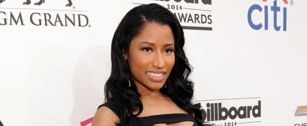 Nicki Minaj's Mane Is More Magical Than a Unicorn's