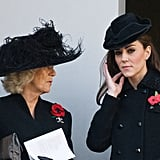 Camilla Parker Bowles and Kate Middleton had a chat.