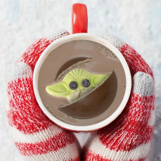 This Hot Chocolate Bomb Has a Baby Yoda Marshmallow Inside