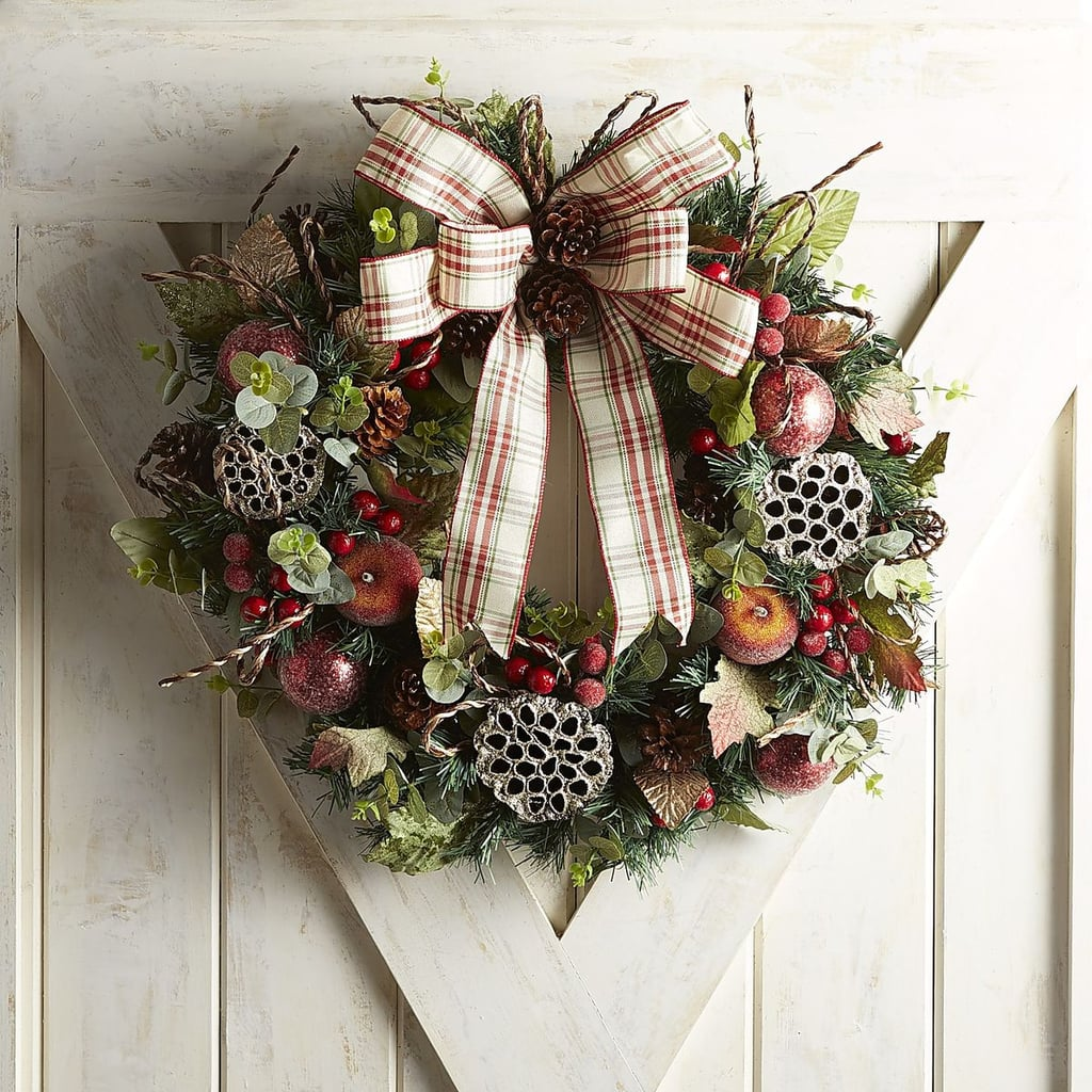 Faux Eucalyptus Berry Wreath ($64, originally $80)