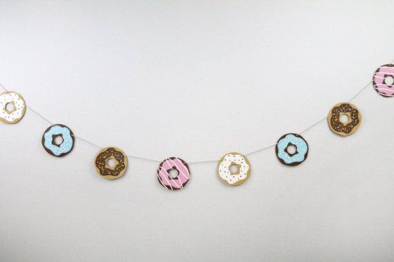 Doughnut Garland ($14)