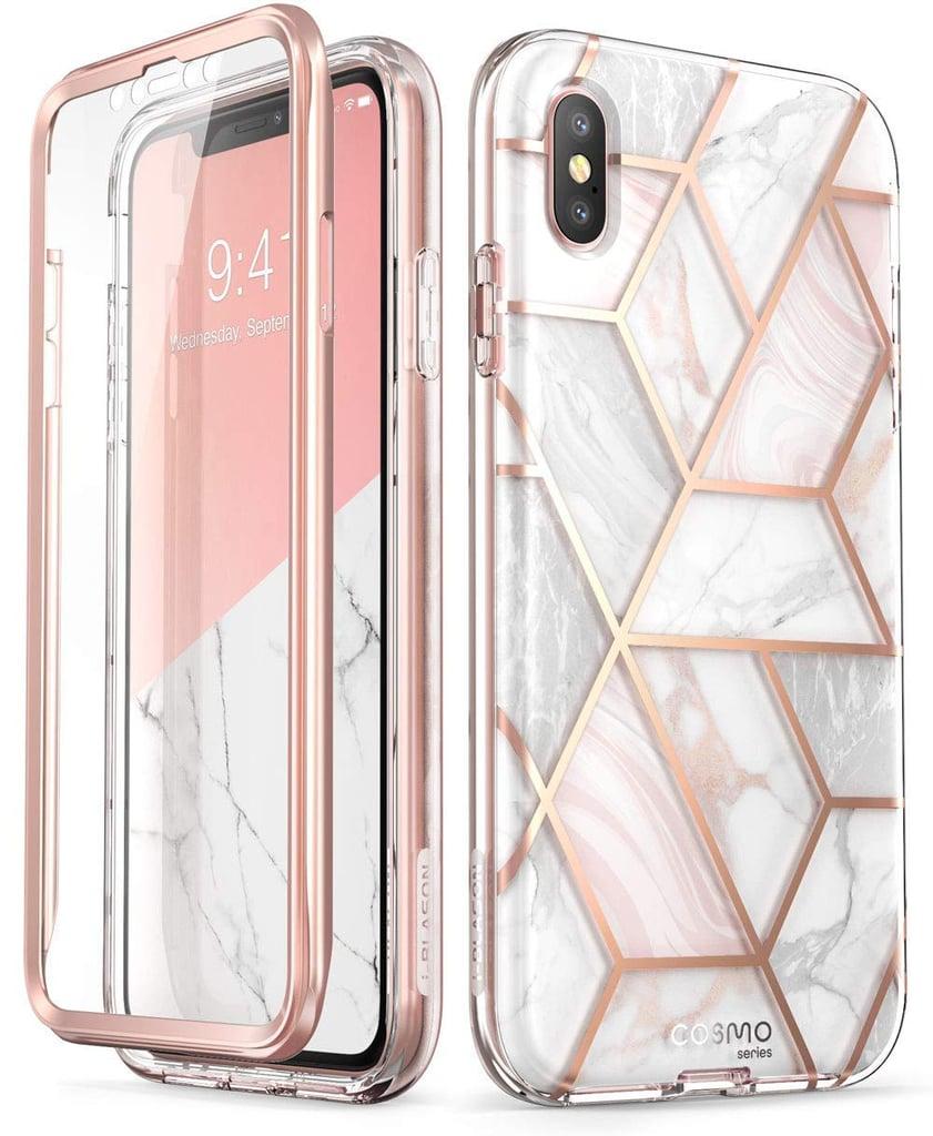 i blason cosmo full body marble bumper case iphone xs max cases