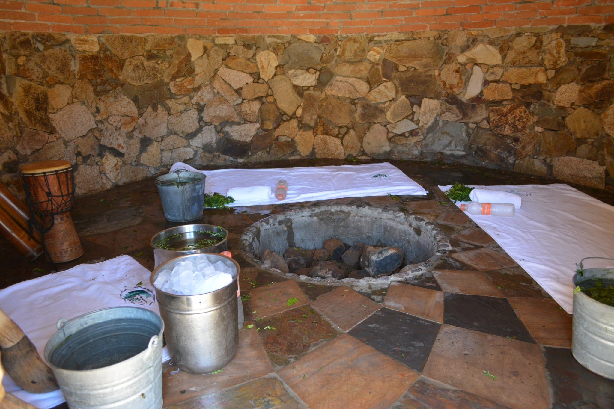 Inside the Temazcal Site
