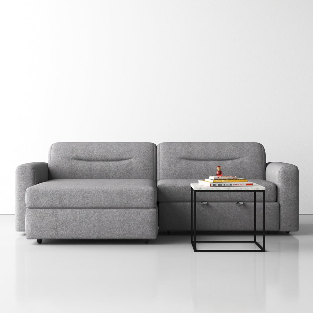 Alyssia Wide Sleeper Sofa and Chaise