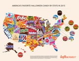 50 States of Candy: The Top Picks Per State