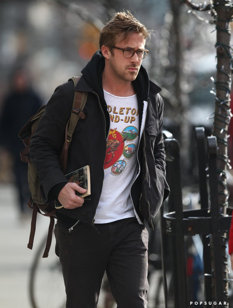 Ryan Gosling walked around NYC solo yesterday after revealing his Hollywood hiatus.