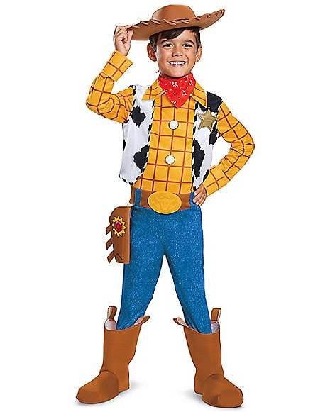 Toy Story 4 Halloween Costumes.Kids Woody Costume From Toy Story 4 Best Spirit Halloween Costumes