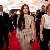 Demi Lovato's Dress at the 2017 Grammys