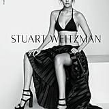 Gigi Hadid Naked in Stuart Weitzman Campaign