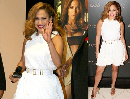 Photos of Jennifer Lopez at the Launch of Deseo For Men