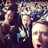 "Chris Hardwick had ""REALLY GOOD SEATS,"" giving him access to Bryan Cranston and Aaron Paul."