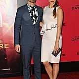 Joe Jonas and Blanda Eggenschwiler made a date night of the event.