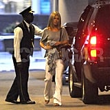 Jennifer Aniston and Justin Theroux Stay Attached For Another NY Weekend