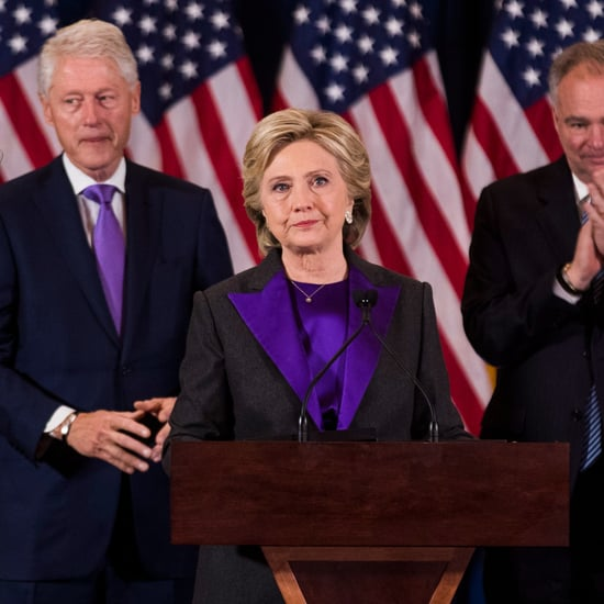 Hillary Clinton Wearing Purple