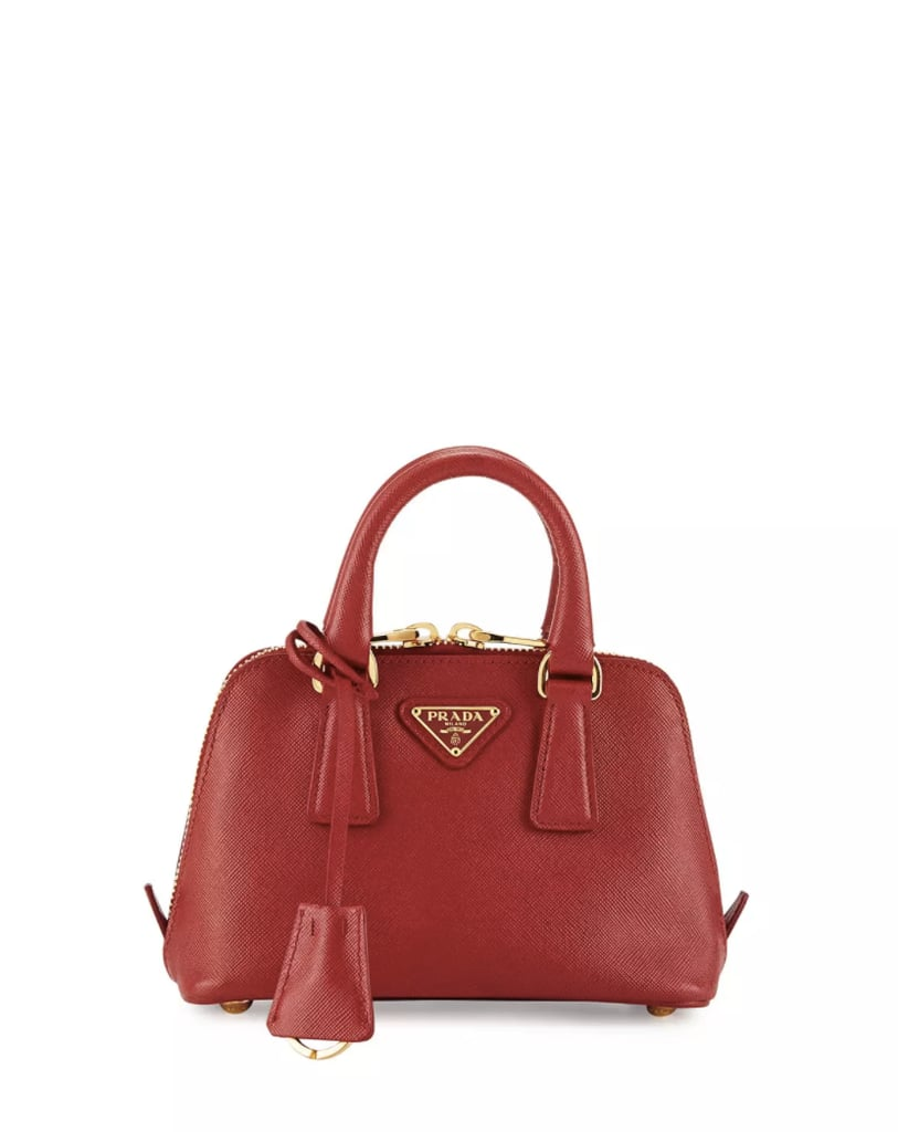 43930cbc24aa Prada Mini Saffiano Promenade Bag | Mini Designer Handbags ...