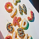 Donut Letter Christmas Ornament