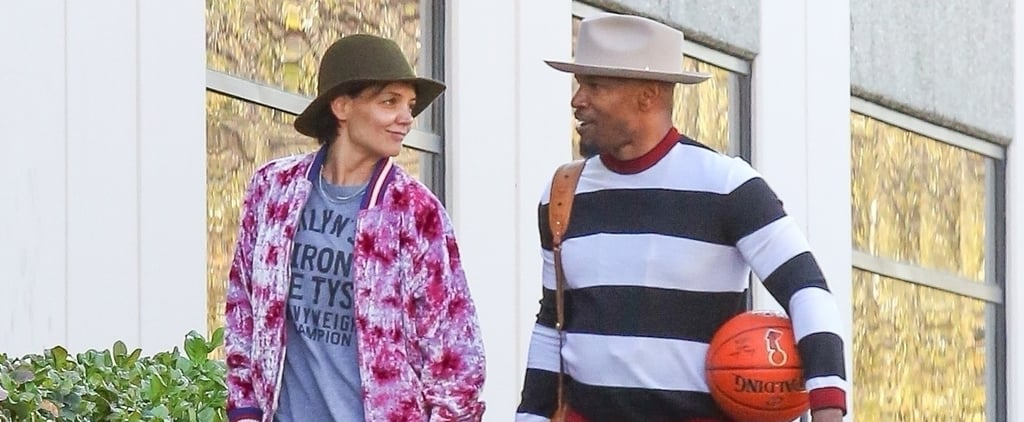 Katie Holmes and Jamie Foxx's Basketball Date Puts Your Valentine's Day to Shame
