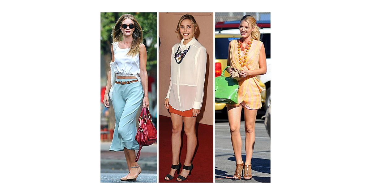 Celebrity Style Quiz For Aug 6 2011 Popsugar Fashion