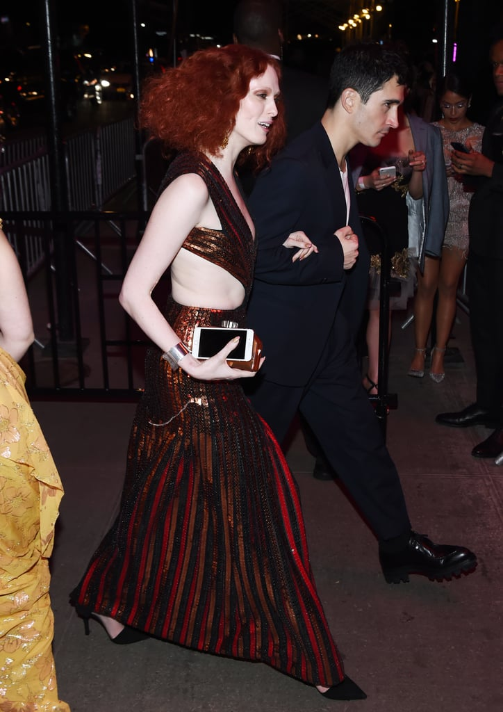 Karen Elson at the Met Gala Afterparty
