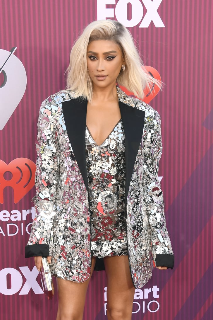 She Owned the Red Carpet in a Sparkly Ensemble | Shay ...