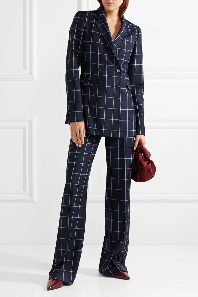 Gabriela Hearst Vesta Checked Suit