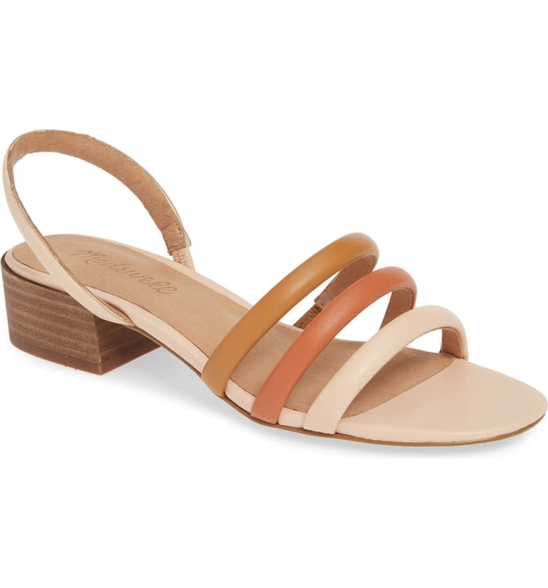 Madewell Addie Strappy Leather Sandals