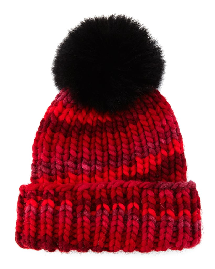 Cozy with a perfect dose of fun and whimsy, this Eugenia Kim Mimi Knit Beanie Hat ($230) was made to enjoy.
