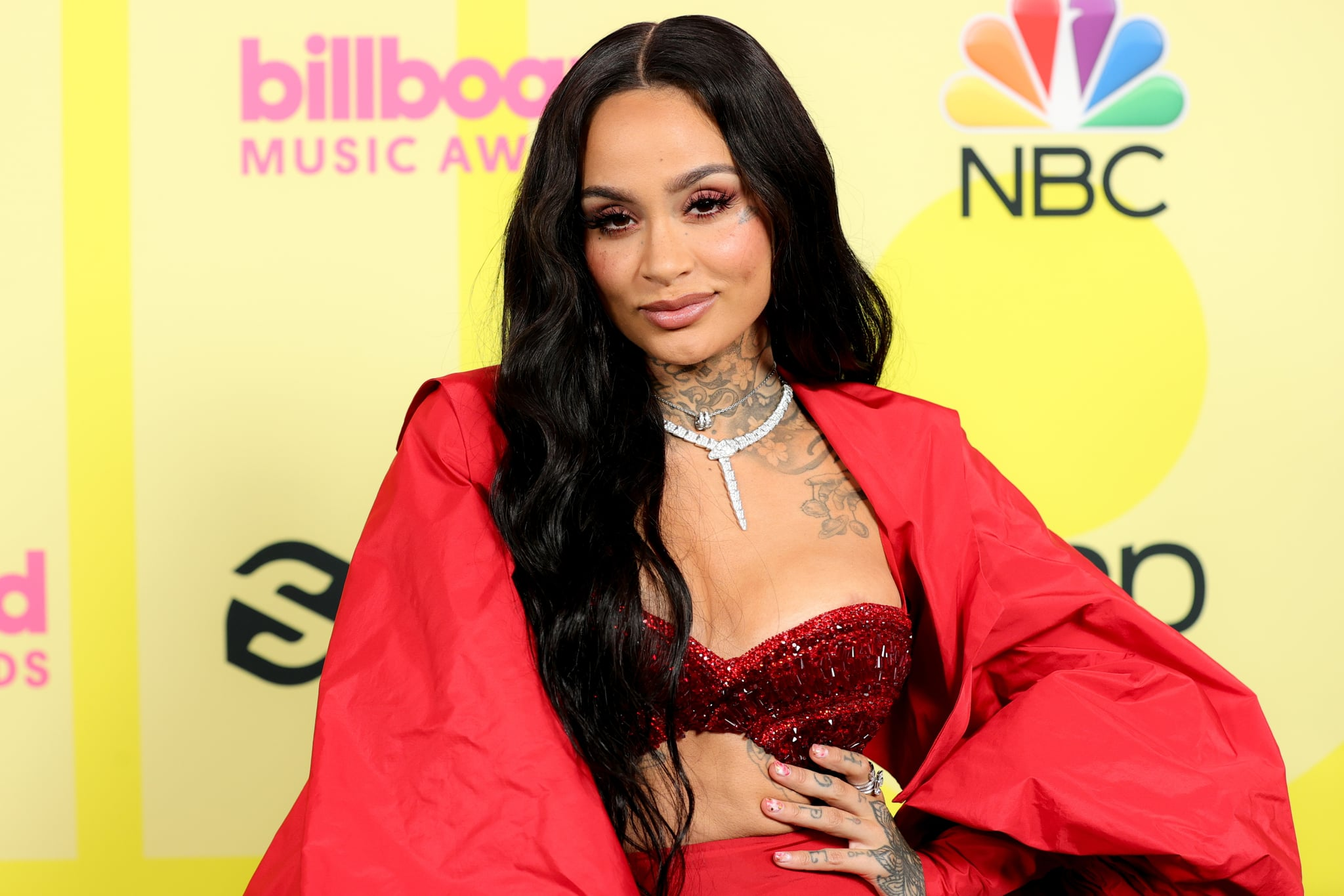 LOS ANGELES, CALIFORNIA - MAY 23: In this image released on May 23, Kehlani poses backstage for the 2021 Billboard Music Awards, broadcast on May 23, 2021 at Microsoft Theater in Los Angeles, California. (Photo by Rich Fury/Getty Images for dcp)