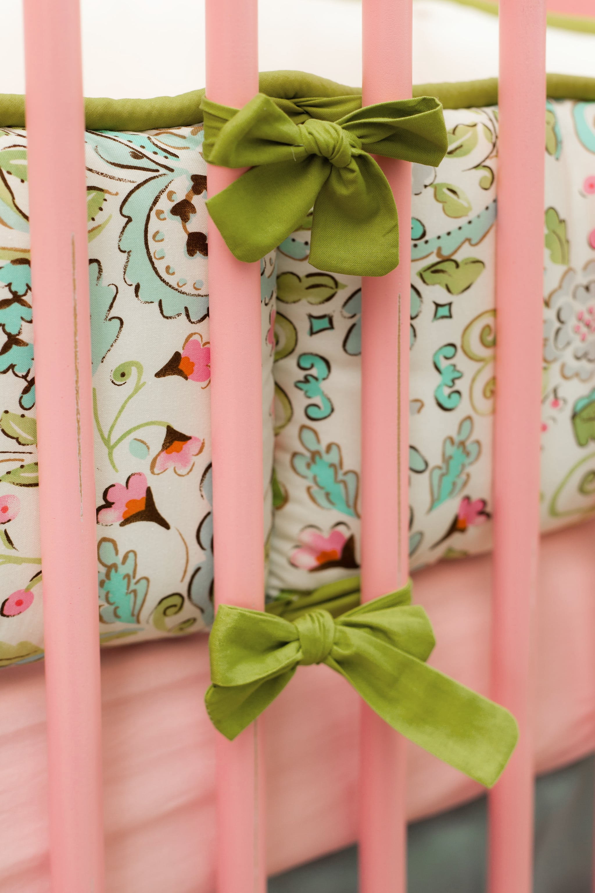 Crib Bedding and Coordinating Textiles