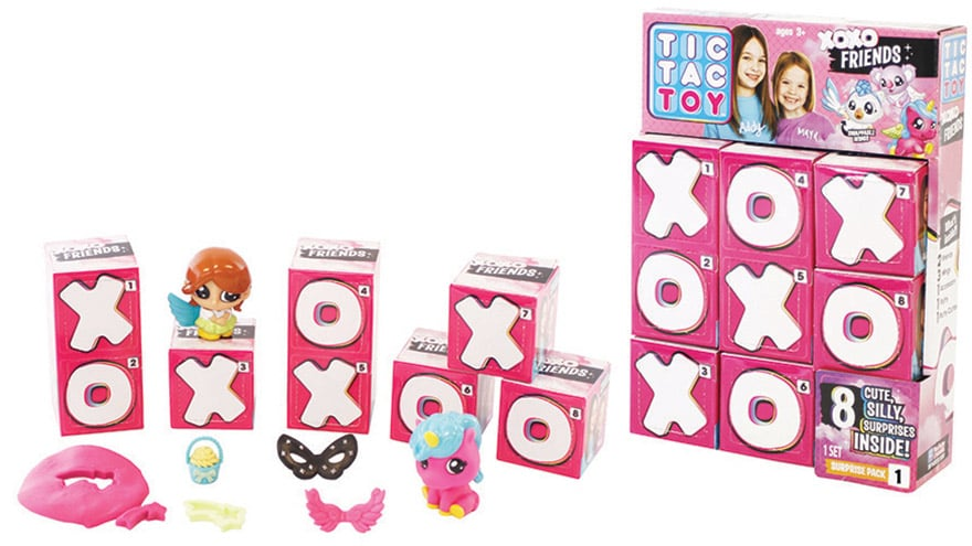 Blip Toys Tic Tac Toy XOXO Friends
