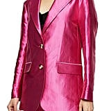 Topshop Satin Dad Blazer