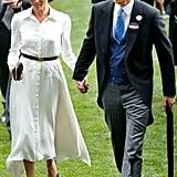 June: He and Meghan Made Their Royal Ascot Debut