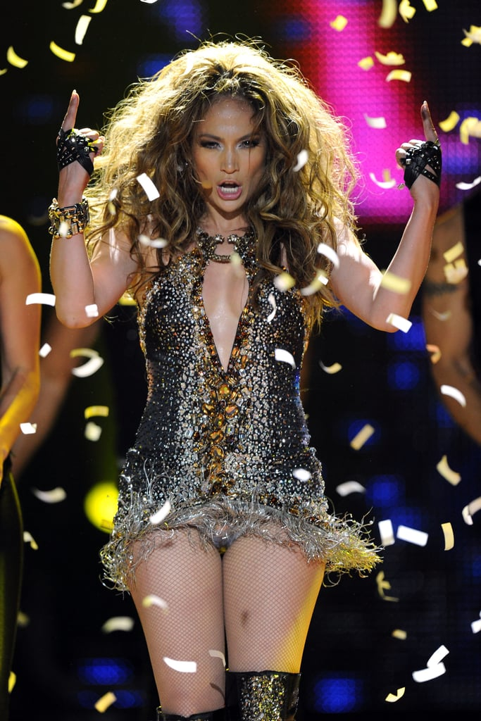 Pictures of Jennifer Lopez, Marc Anthony, and Paris Hilton at the 2010 World Music Awards