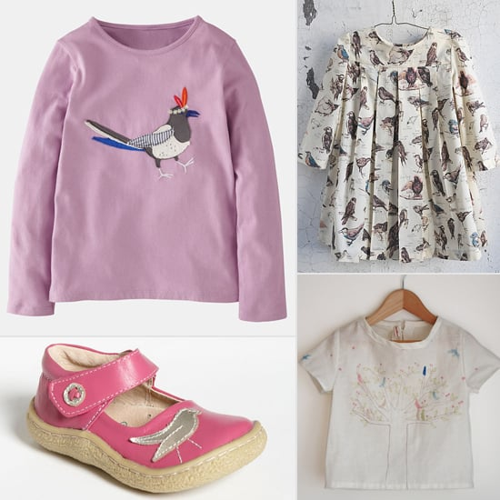Fly Girls! 12 Bird Frocks and More For Little Girls
