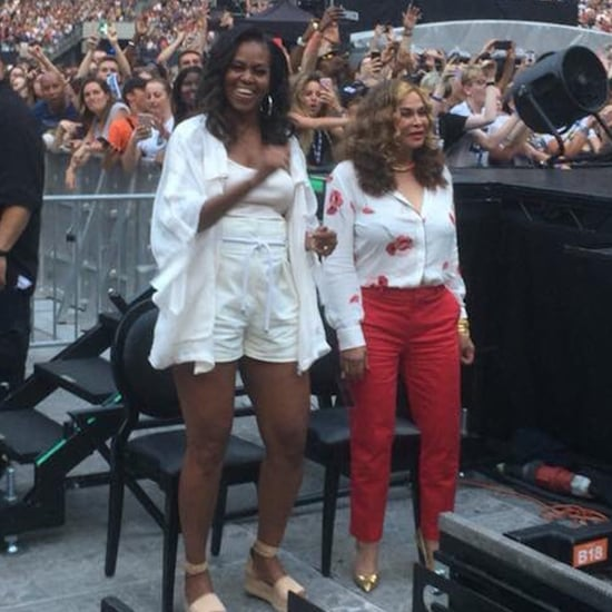 Michelle Obama at Beyoncé and JAY-Z's Paris Concert 2018