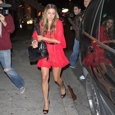 Lauren Conrad Parties in LA