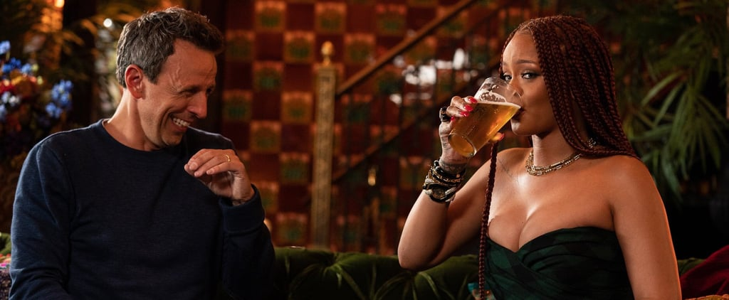 Rihanna Day Drinking With Seth Meyers Video