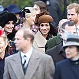 Meghan's First Christmas at Sandringham