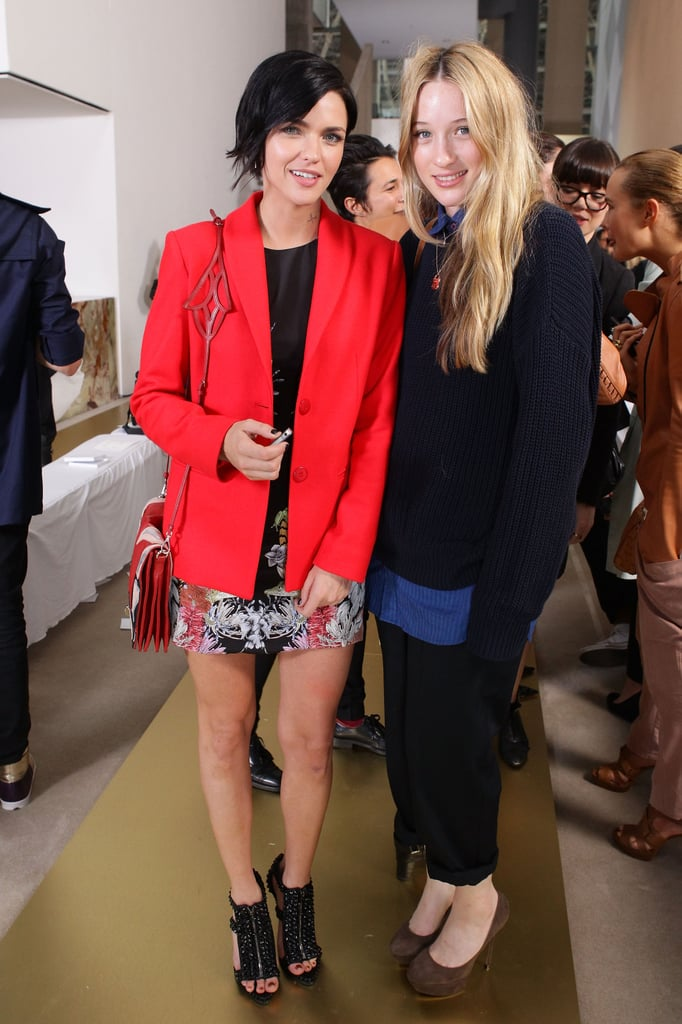 Ruby Rose and Sophie Lowe attended Manning Cartell in 2011.